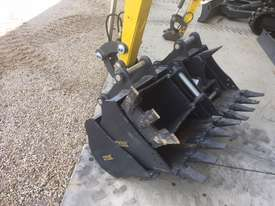 NEW4.2T  Tier4 EZ36 EXCAVATOR ANGLE/FLOAT BLADE 5 Year Warranty - picture3' - Click to enlarge