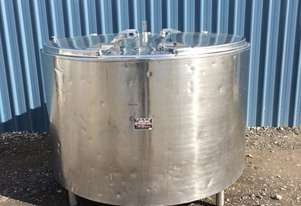 1,550ltr Insulated Stainless Steel Tank