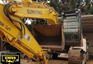 2019 Sumitomo SH130LC, 150hrs & attachments.  MS571