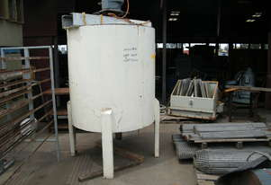 Mild Steel mixer  with  jacket