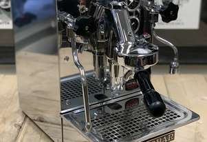 EXPOBAR OFFICE LEVA 1 GROUP STAINLESS STEEL ESPRESSO COFFEE MACHINE