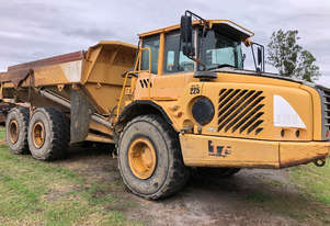 Volvo A25D Articulated Off Highway Truck