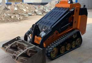Mini Skid Steer Loader. Track Drive – 30hp Perkins Diesel Engine TM30T