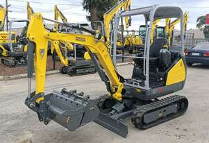New Wacker Neuson ET18 1.8tonne Mini Excavator