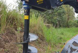 Auger Drive - Mini Loader - Auger Torque - 4 Way Swing - Mounting Plate Included