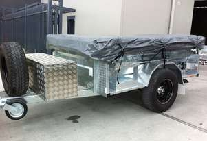 OFF ROAD GALVANISED CAMPER TRAILERS (INCL. TENT)