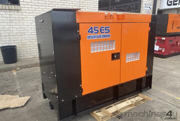37.5 KVA Isuzu /Denyo Silenced Industrial Diesel Generator Good Condition Serviced and Tested