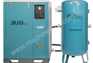 BOSS 48CFM/ 10HP Silent Workshop Air Compressor