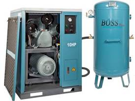 BOSS 48CFM/ 10HP Silent Workshop Air Compressor  - picture2' - Click to enlarge