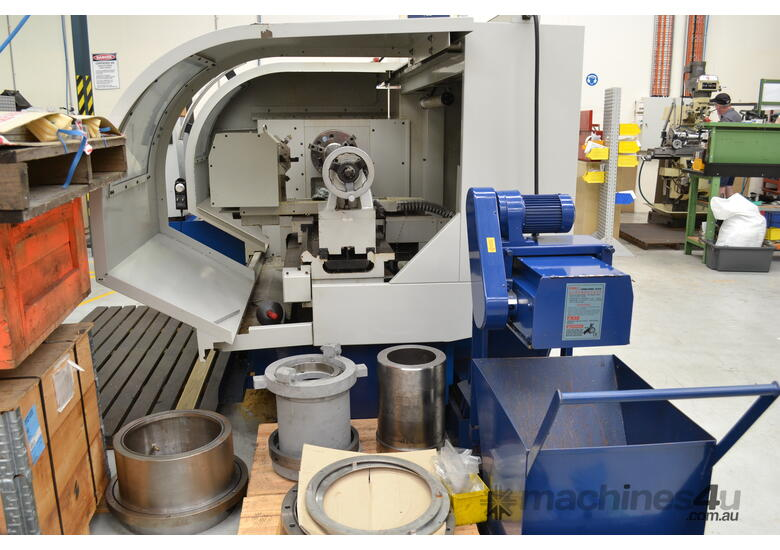 610, 720, 800mm swing CNC Lathes opt. Live Tooling