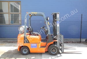 1800KG container entry forklift for hire
