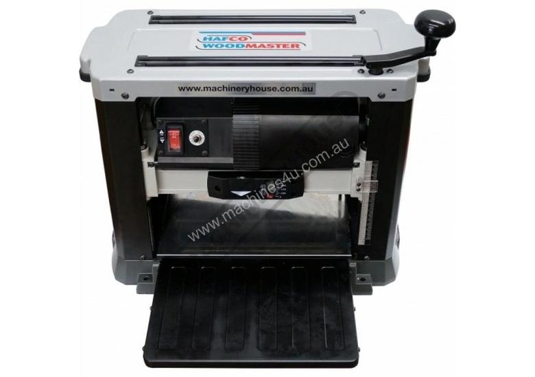 T-13S Bench Mount Thicknesser - Helical Head 330 x 152mm (W x H) Material Capacity  Patented Helical