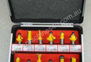 United Tools 12 Piece Router Bit Set