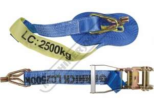 2500kg Ratchet Tie Down Strap 9 Metre x 50mm