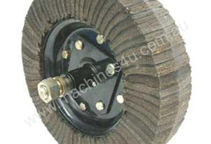 SLASHER WHEEL RUBBER MAT WITH HUB 400MM