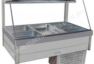 Roband CRX26RD Curved Glass Cold Food Bar