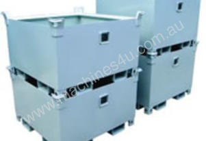 Stackable Crane Storage Waste Bin 1.0m3 2000kg
