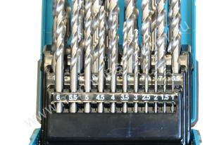 25 Pc Drill Bit Set HSS M2 Metric