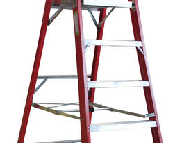 1.8m Fiberglass Platform Step Ladder