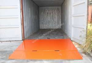 Container Ramp 6500kg In Stock Perth
