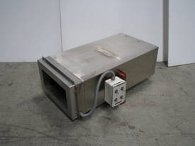 Stainless Steel Heat Drying Tunnel - 330 x 160mm - picture0' - Click to enlarge