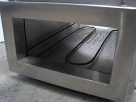 Stainless Steel Heat Drying Tunnel - 330 x 160mm - picture1' - Click to enlarge