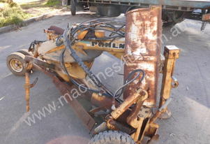 Pohlner wind row eliminator ,