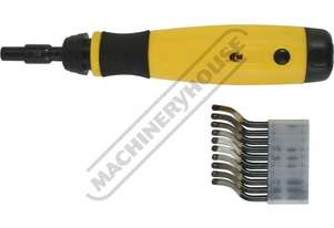 D060 Deburring Tool - Telescopic Shaft Includes 10 HSS Blades