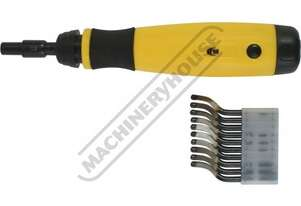 D060 Deburring Tool - Telescopic Shaft  Includes 10 x HSS Blades