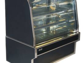 Koldtech Curved Glass Refrigerated Display 900mm