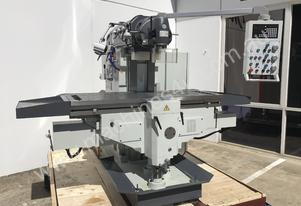 Heavy Duty Universal Milling Machine 500mm x 2000mm Table Mill ISO50, Ballscrews