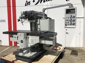 Heavy Duty 500mm x 2000mm Table Mill ISO50, Ballscrews - picture17' - Click to enlarge