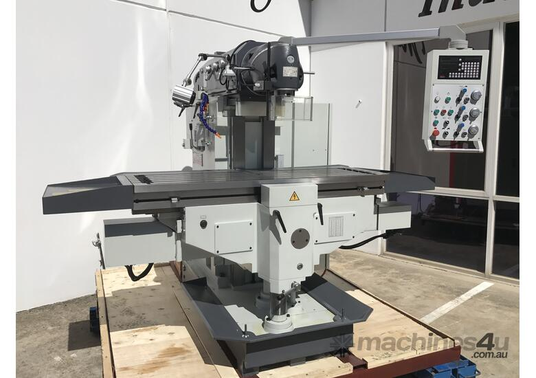 Heavy Duty 500mm x 2000mm Table Mill