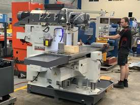 Heavy Duty Universal Bed Milling Machine 500mm x 2000mm Table Mill ISO50, Ballscrews - picture2' - Click to enlarge