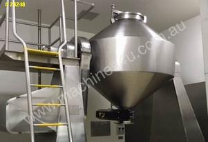 Double Cone Blender 1000 litre capacity