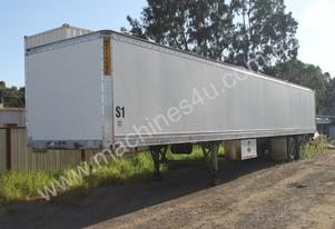 2001 Maxitrans 48ft Pantech Trailer