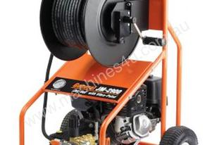 petrol powered jet rodder water jet drain cleaner