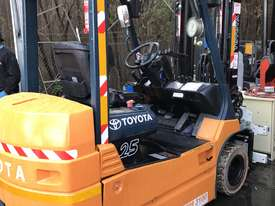 Toyota 7FB25 Electric Forklift with Rotator - picture3' - Click to enlarge