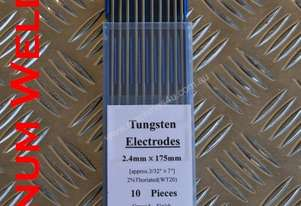 Thoriated 2.4 Tungsten Electrodes Pkt 10 $40