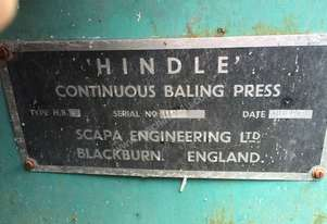 Hindle Bale Press