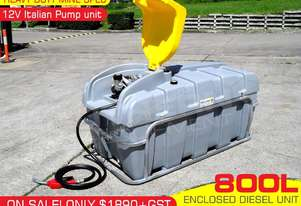 800L Diesel Fuel Tank 12V with mounting Frame
