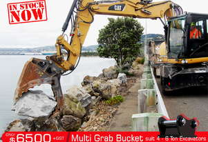 506mm Multi Grab Bucket for 4-6T Excavator ATTGRAB