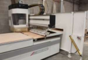 SCM CNC Machine comes with Ducting, 2 X Gabbet Dust Collector, Additional Safety fence, comes with Z