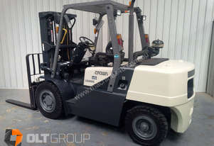 Crown 4 Tonne Diesel Forklift Sydney Sideshift Container Mast with 4th Hydraulic Function
