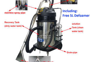 TCS Shampooer Carpet Cleaner Machine Upholstery Car Detailing with FREE 5L Defoamer