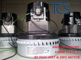 TCS 80L Commercial Industrial Wet & Dry Vacuum Cleaner with 3 x 1000w Ametek Motors - picture1' - Click to enlarge
