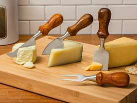 Rockler Four-Piece Cheese Knife Turning Kit - picture2' - Click to enlarge