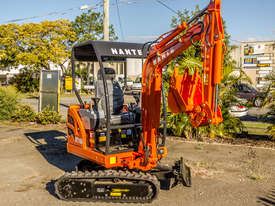 Yanmar Powered Nante 1.6T Excavator with 2 Year 2000 Hours FULL Warranty - picture3' - Click to enlarge