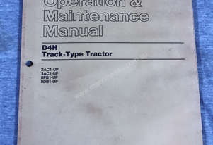 CAT Operation & Maintenance Manual D4H