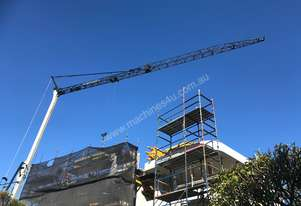 Potain IGO24 self erecting Crane